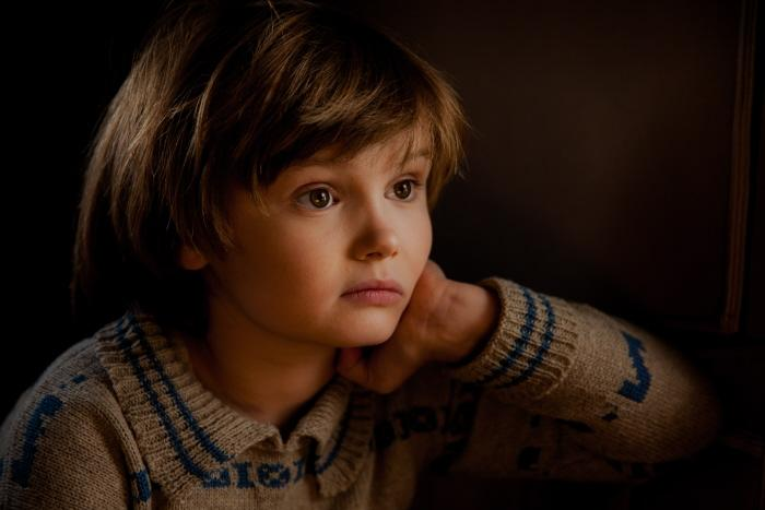 Will Tilston in the film GOODBYE CHRISTOPHER ROBIN.